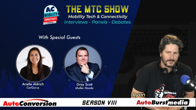 Arielle Aldrich and Gray Scott on the Mobility Tech & Connectivity Show
