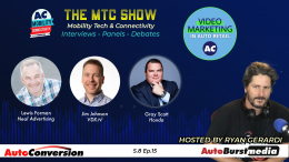 Lewis Forman, Jim Johnson, Gray Scott on the MTC Show