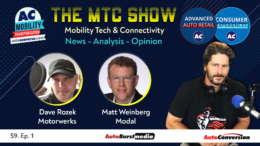 Mobility Tech & Connectivity Show w/ Matt Weinberg, Modal