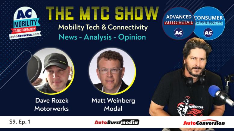 Mobility Tech & Connectivity Show w/ Matt Weinberg, Modal