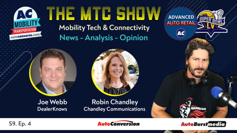 Mobility Tech & Connectivity Show w/ Joe Webb and Robin Chandley