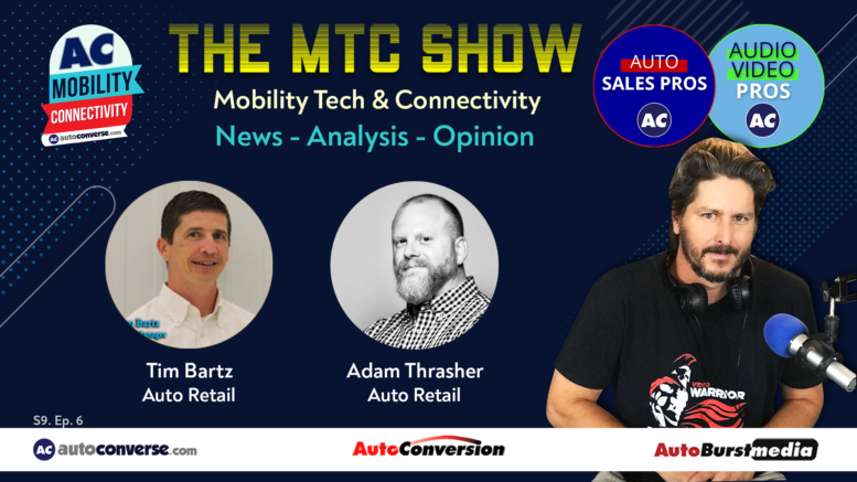 Mobility Tech & Connectivity Show with Adam Thrasher and Tim Bartz
