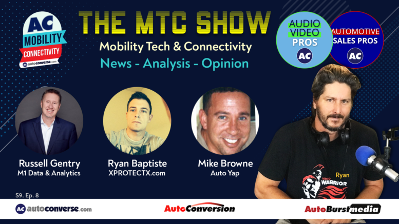 Ryan Baptiste on the Mobility Tech & Connectivity Show