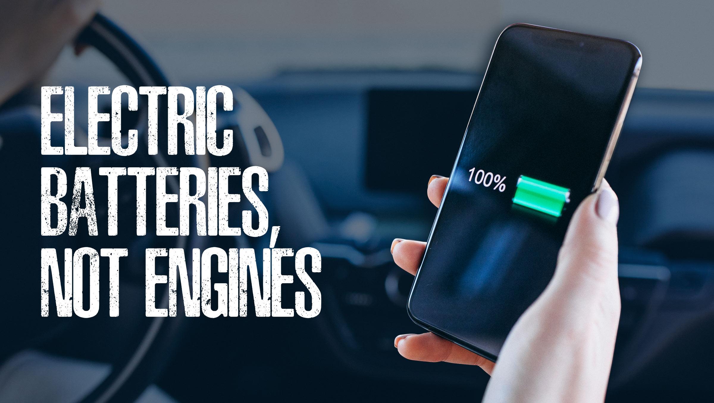 Batteries, Not Engines, Lead AutoTech Now