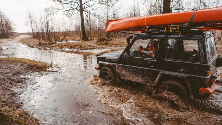 The Best Vehicles for Driving Through Water