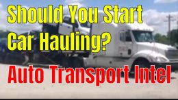 Should You Start Car Hauling?