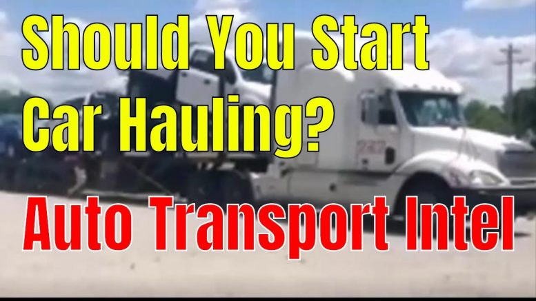 Should You Start Car Hauling?