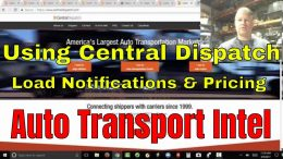 How To Use Central Dispatch Load Board Notifications