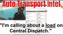 Calling About A Load On Central Dispatch and How To Verify Vehicles