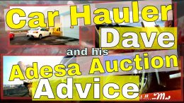 Car Hauler Dave and his Adesa Auction Advice
