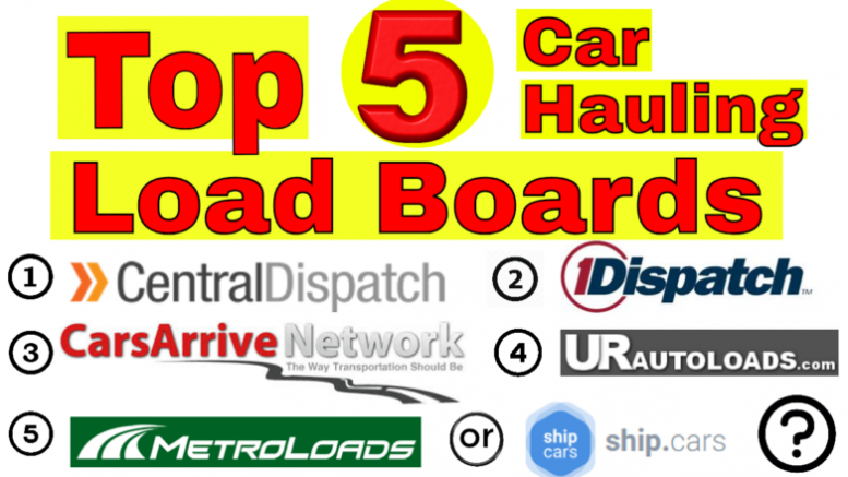 Top 5 Load Boards for Car Haulers