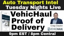 VehicHaul Auto Transport Software DEMO Load Sharing, Home Delivery App