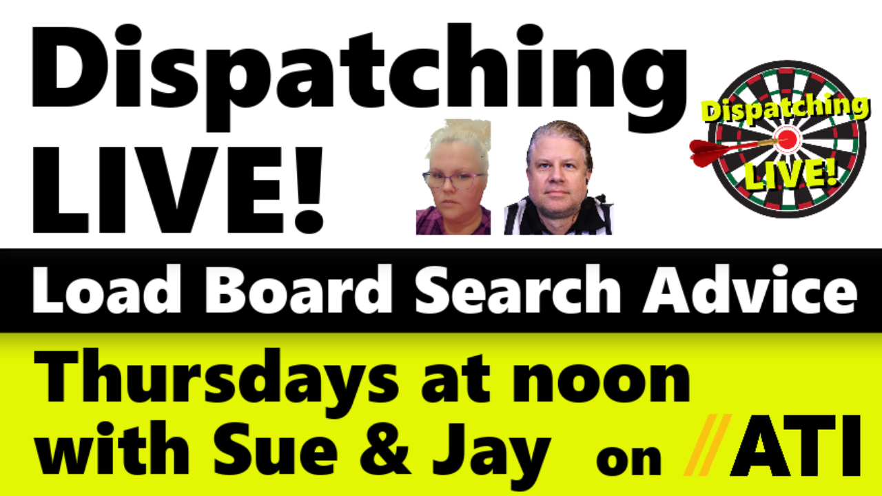 Dispatching LIVE! w/ Sue & Jay