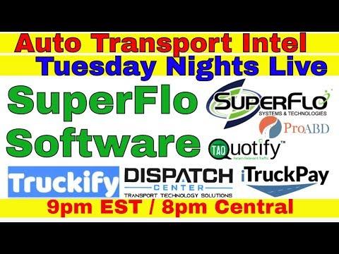 SuperFlo Car Shipping Software: ProABD Dispatch Center Truckify iTruck
