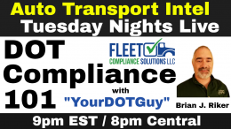 DOT Compliance 101: MC authority, CDL, GVWR, UCR, FMCSA Regulations