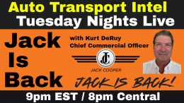 JACK IS BACK Jack Cooper Transport Car Carriers Auto Transportation