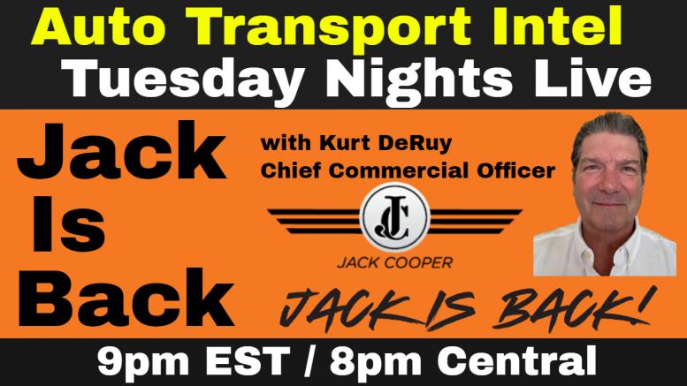 JACK IS BACK Jack Cooper Transport Car Carriers Auto Transportation