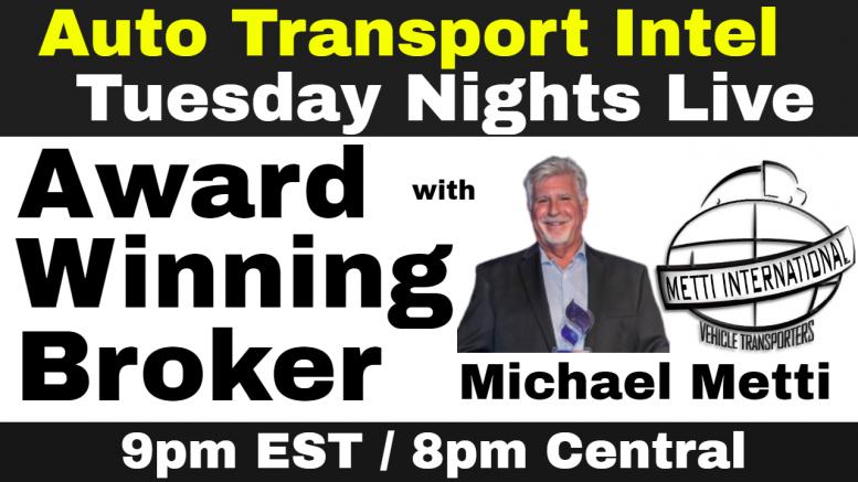 Car Shipping Tips by Award Winning Auto Transport Broker Michael Metti