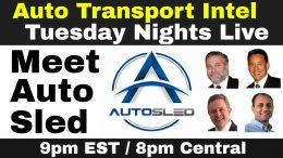 AutoSled Car Dealer Shipping TMS Auto Transport Carrier Mobile App