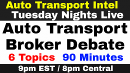 ATI TNL 157 Auto Transport Broker Debate: Do Brokers Serve Car Shipping Business?