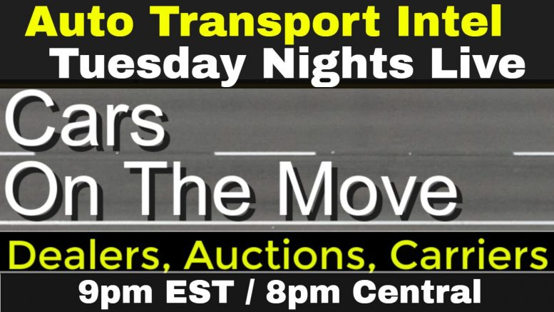 Cars On The Move: Connecting Dealers Auctions Carriers, Fridays on ATI