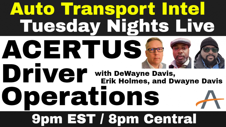 ACERTUS Driver Operations: Live Recruiting Event for DOT and CDL Drivers