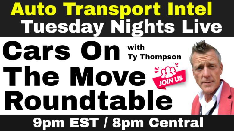 Cars On The Move Monthly Roundtable Auto Transport Coaching Networking
