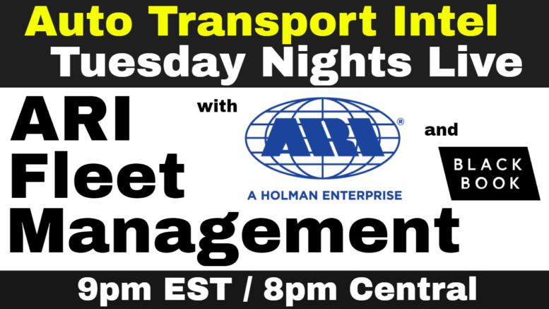 ARI Fleet Management: Vehicle Remarketing Auto Inventory w/ Black Book