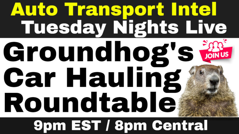 Groundhog's Car Hauling Roundtable: Auto Transport Business Networking