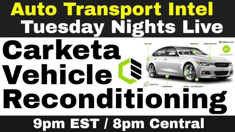 Carketa: Vehicle Reconditioning Software, Car Dealer Inspection Report