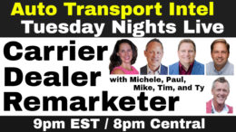 Carrier Dealer Remarketer: Auto Auction To Auto Transport To Car Sales