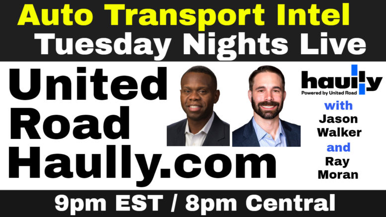 United Road Haully.com Auto Transport Carrier Load Board