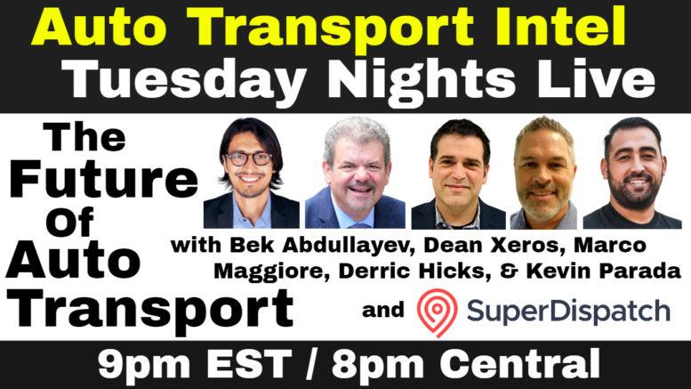 Auto Transport Future: Super Dispatch, uShip, McCollister's, Car Delivery Network, JP Auto Transport