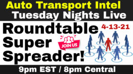 Cars On The Move Auto Transport Business Roundtable Super Spreader!