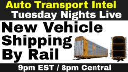 Vehicle Shipping By Rail: Ship A Car By Train, Rail Auto Transport