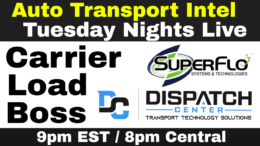 Carrier Load Boss Route Scout with Dispatch Center by SuperFlo Systems