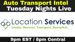 Location Services: Car Repossession, Auto Transport & Auto Remarketing
