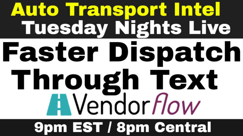 Faster Dispatch w/ Vendorflow Text Brokers Send Carriers Loads Via SMS