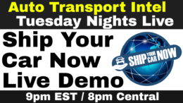 Ship Your Car Now Live Demo and the Powerhouse Automotive Professional Panel