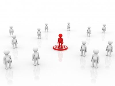 Image representing social targeting