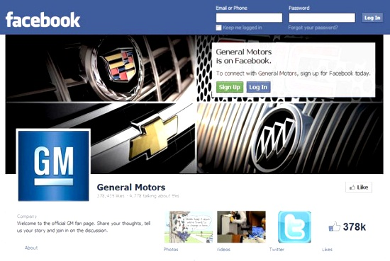 GM Facebook Fanpage