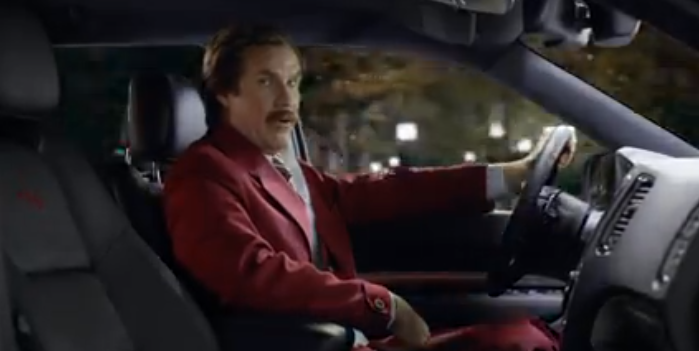 ron-burgundy-dodge-durango-lady-ad