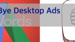 Facebook and Google Sunset Desktop Ads