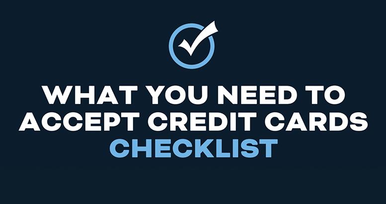 bluepay card checklist