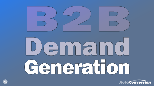 b2b demand generation
