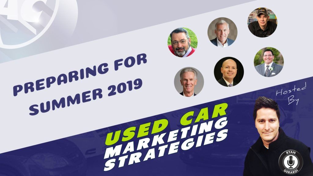Used Car Marketing Strategies - June 2019