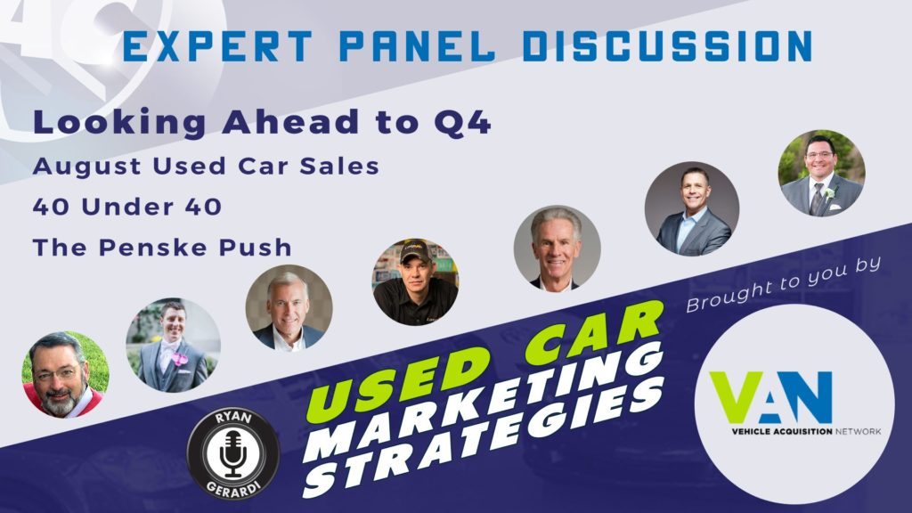 Looking Ahead in Used Cars for Q4 2019