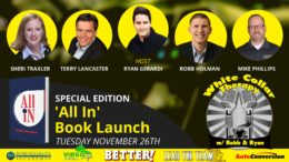 White Collar Therapy & Leadership Show - All In Book Launch