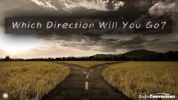 Which direction will you go?