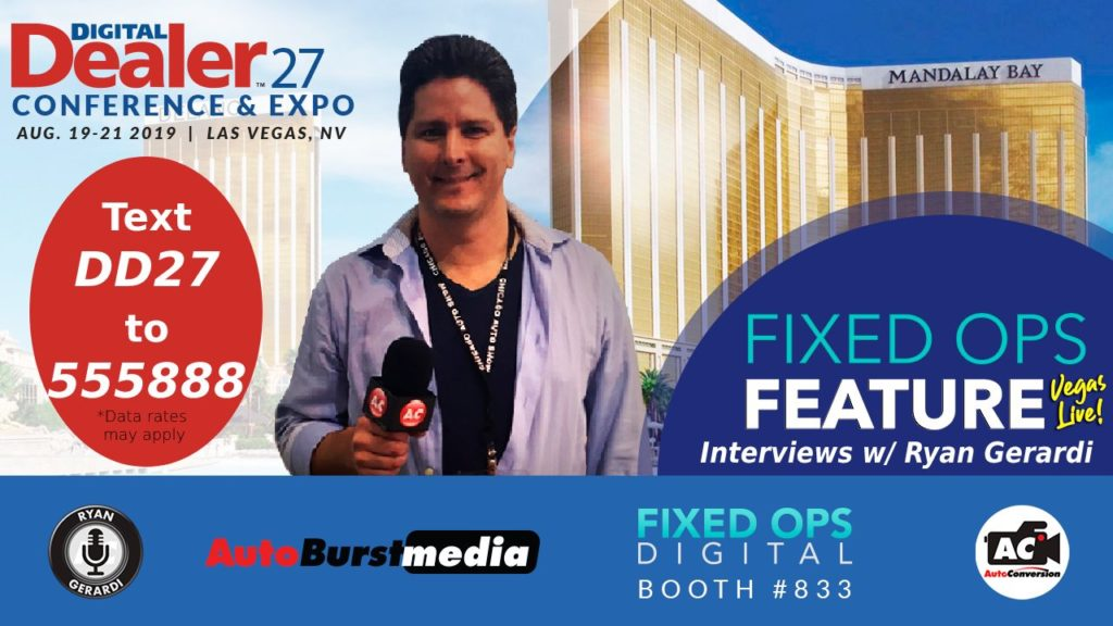 Exclusive Interviews with Ryan Gerardi at DD27